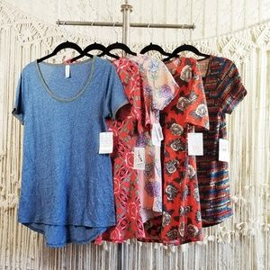 🌻 nwt 5 Piece Lot Perfect T & Classic T Shirts 🌻